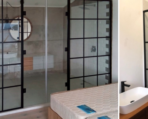 Bathroom and Shower by Tile and All Jeffreys Bay
