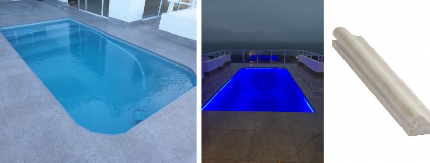 Kwela Led Bullnose Coping for Pools